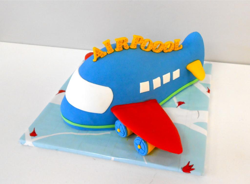 Thomas & airplane